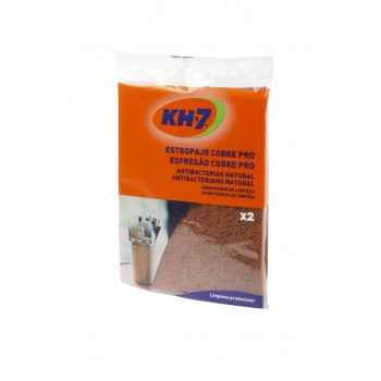 Kit de 2 estropajos KH-7 de Cobre - Antibacterias natural