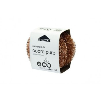 Estropajo de cobre puro - Pack de  2 unidades - Eco Friendly